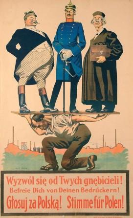 antoni romanowicz, wyzwól się od twych gnębicieli ! (...). głosuj za polską! (1920 - 1921)