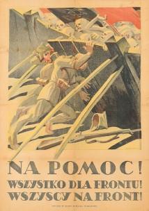 edmund bartłomiejczyk, na pomoc ! wszystko dla frontu ! wszyscy na front!, 1920