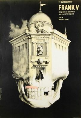 franciszek starowieyski frank v (opera banku prywatnego), f. durrenmatt, teatr dramatyczny, 1962