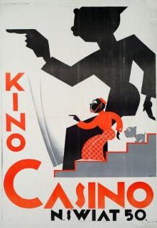 marian walentynowicz kino casino. n[owy] świat 50, (1927)