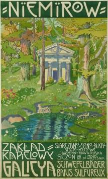 monogramista r. c.,niemirów. zakład kąpielowy (...), 1912