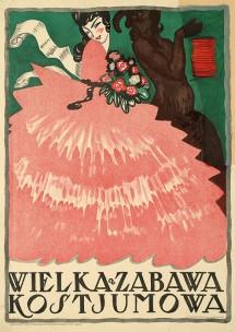 tadeusz gronowski, wielka zabawa kostiumowa, 1917