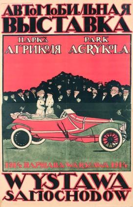 wacław z. czerny, (...) wystawa samochodów. park agrykola. warszawa (...), 1914